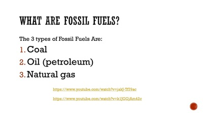 exploring the three major fossil fuels in use today Alternative energy is any energy source that is an alternative to fossil fuel these alternatives are intended to address concerns about such fossil fuels three.